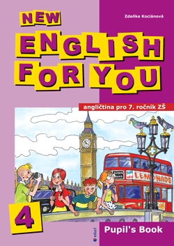 New English for You 4 učebnice - Educi
